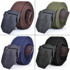 Men's Canvas Belt Casual Waistband Anolly Buckle