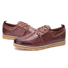 "Men""s Casual And Comfortable Breathable Cool Shoes Korean Version (Brown) ' - Intl"