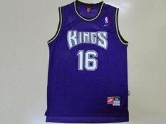 78481e3b4c79 ... Basketball Jersey NBA NBA 16 Peja Stojakovic Sacramento Kings Throwback  Stitched Hot Newest Comfortable ...