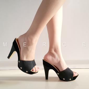 Merce - Heels Pesta (Black)