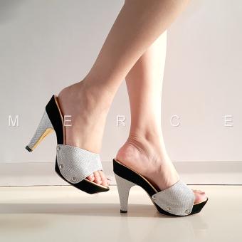 Merce - Heels Pesta (Silver)