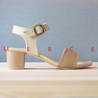 Merce - Isabel Naomi Block Heels (Brown)