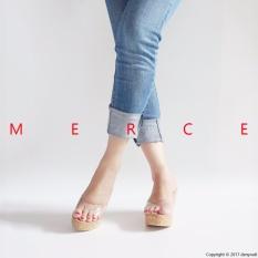 Merce - Wedges Jessie - Transparant