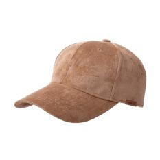 Mertens Korea Fashion Style laki-laki musim semi dan musim panas topi baseball topi (M warna kopi)