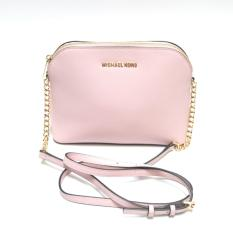 Michael Kors Cindy Large Dome Crossbody (Blossom)