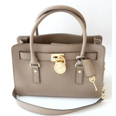 Michael Kors Hamilton East West Medium Satchel - Dark Dune