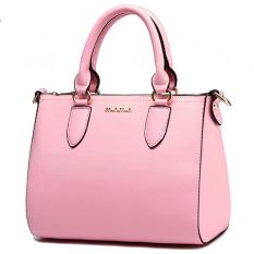 Min Min Elegant Women Summer HandBag Pink (Intl)