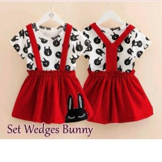 MJ Dress Anak Anastasia Kids - Merah