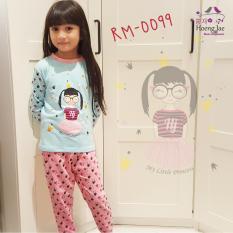 Momo99 - Piyama/Baju Setelan Anak Perempuan RM099
