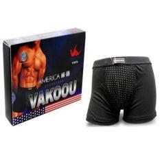 Moreno Celana Keperkasaan Vakoou - Magnetic Underwear - Hitam