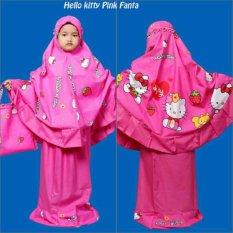 Mukena Anak HK Cute Pink Fanta
