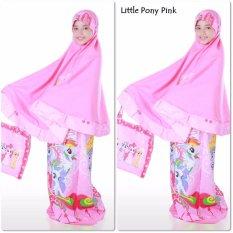 Mukena Anak Litel Poni Pink