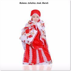 Mukena Ashalina Anak Merah