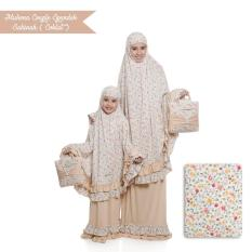 Mukena Ibu Dan Anak Sakinah Cokelat
