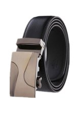 MULBA 2015 Fashion Men Leather Strap Cowhide Automatic Buckle Authentic Girdle Trend Belts