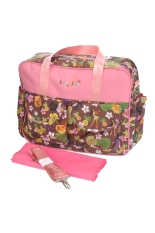 Multi-functional Waterproof Mummy Handbag Travel Tote Shoulder Bag Baby Diaper Nappy Changing Bag With Detachable Shoulder Strap Hawaii Style