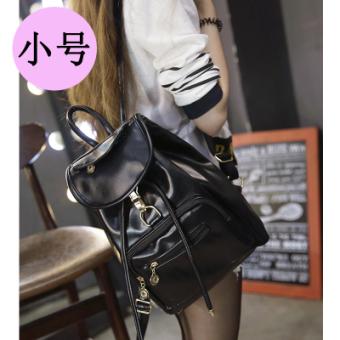 Musim gugur dan musim dingin Korea Fashion Style kulit lembut siswa SMA perempuan tas ransel tas