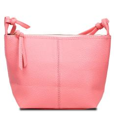 Naomi PU Leather Crossbody Bag Free Mini Pouch / Tas Selempang Wanita - Peach