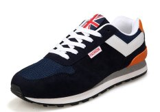New Arrival Men Spring Sport Casual Shoes Sneakers Sport Casual Fashion Sneakers (Blue) - Intl