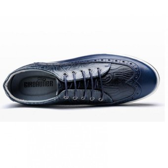 New England Korean Fashion Casual And Comfortable Small Shoes (Blue)