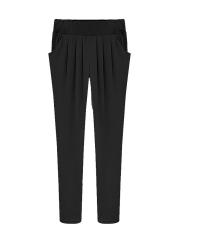 NEW Fashion Elastic Waist Women's Harem Pants - Intl