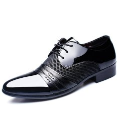 New Men's Dress Formal Oxfords Leather Shoes Business Casual Shoes Dress Casual - Intl
