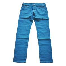 New Mens Stylish Candy Pants Casual Skinny Slim Elasticity Pants Jeans Trousers (Sky Blue) (Intl)