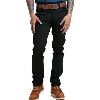 Nudie Jeans Slim Jim Dry Black Hitam