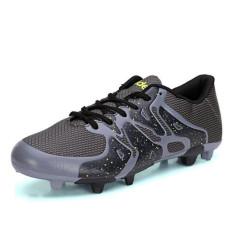 Olahraga luar ruangan sepatu bola anak Jaksa tahan lama sejuk sepatu berpaku (hitam) - International
