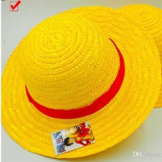 One Piece Luffy Staw Hat Costume Accessories Boy's hat grils cap cosplay - intl
