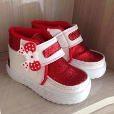Onemarkets baby shoes sepatu anak kecil cewek G01 [Merah]