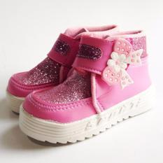 Onemarkets baby shoes sepatu anak kecil cewek G02 [Light Pink]