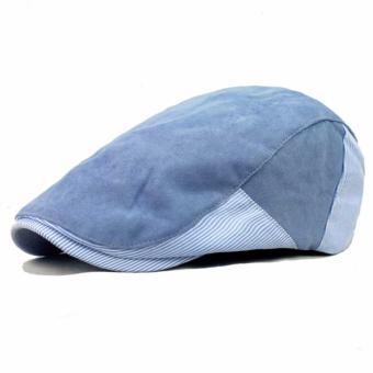 Ormano Topi Golf Summer Duckbill Pet Outdoor Fashion Garis Side Line  Samping K042 - Biru Muda cc3dbe22e1