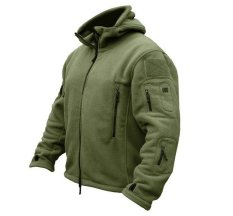 Outdoor Military Tactical Fleece Jacket Coat Breathable Fleece Coat Sport Hiking Camping Hunting Hooded Coat Outwear Army Clothing