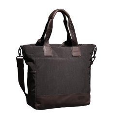 Pabojoe Men's Multifunctional Washing Canvas with Leather Handbag Shopping Brown (Intl)