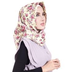 Parisku Jilbab Hijab Segiempat Katun Parisku Square Azka Green