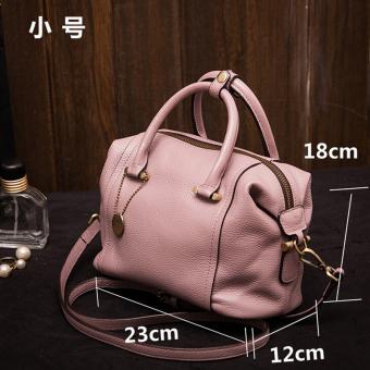 Perempuan baru Korea Fashion Style tas wanita tas (Merah muda kecil)