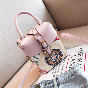Persegi kecil Korea Fashion Style perempuan baru Mini bahu portabel tas tas wanita Messenger tas tas