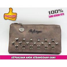 ... Phayuan Dompet Wanita Fashion Panjang 57 38 panjang Coklat