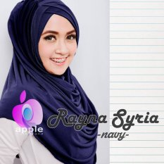 Plasa Cantik Hijab Instant Rayna Syria Premium (Navy Blue)
