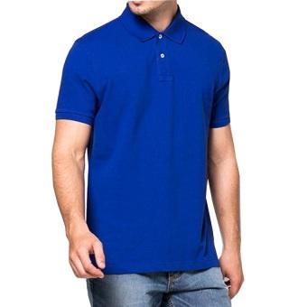 Polo Shirt Pria Polos Pendek – Biru