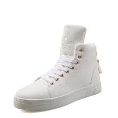 Pria Kasual Sepatu Kulit Ankle Boots Olahraga Sepatu Sepatu Skateboard Men Casual Leather Shoes Ankle Boots Sports Shoes Skateboard Shoes