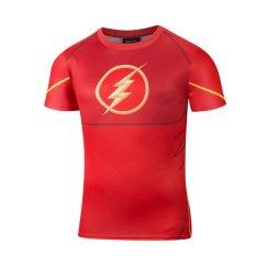 Kaos Oblong Pria 7XL Katun Murni Lengan Panjang Kerah Bulat Motif Cetak Ukuran Besar (Merah