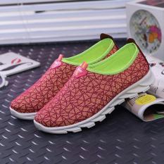 Promo Sepatu Pria Wanita - Korea style - Pink