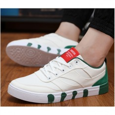 Pudding Men's Fashion Canvas Casual Sports Shoes Green