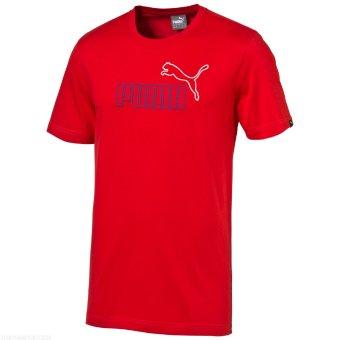 Puma Kaos Olahraga Fun Sp 83218122 Merah - Daftar Harga Penjualan ... 38810dce69