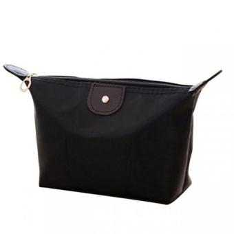 Quina Tas Kosmetik Pouch Tempat Make Up Black