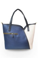 Quincy Label La Tullipe Tote Bag-Navy