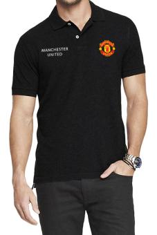 QuincyLabel Polo Soccer Shirt The Citizens man city-Black