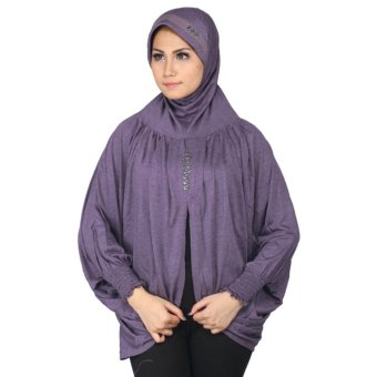 Raindoz Jilbab/Kerudung Bergo RSYx013 Full Purple